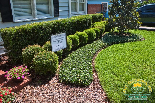 Excellent Residential Lawn Care Service U Landscape Design Jlc Outdoors  With Landscaping Ideas For Florida